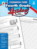 Common Core Fourth Grade 4 Today SALE 20% OFF CD-104821