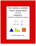 Common Core Fourth Grade Classify Two-Dimensional Figures 4.G.A.2