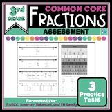Fraction Common Core Assessment - 3rd Grade
