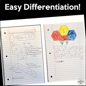 Fraction Activities - Hands On Task Cards