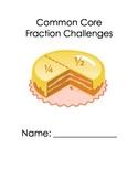 Common Core Fraction Challenges