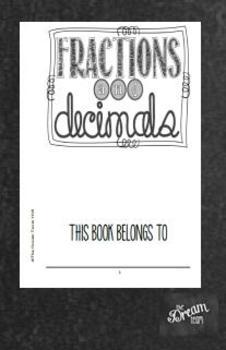 Common Core Fraction & Decimal Booklet