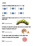 Common Core Fraction Review Third Grade