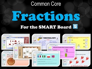 Fractions for the SMART Board