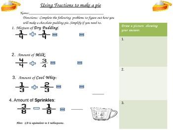 Common Core Fractions