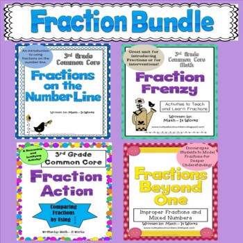 Common Core Fractions Bundle