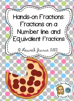 Common Core Fractions: Fractions on Number Lines and Equivalent Fractions