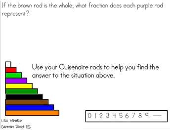 Common Core Fractions Represent Equal Areas of a Whole Flipchart