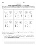 Common Core Fractions Test - Equivalent Fractions, Compari