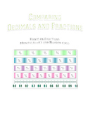 Common Core Fractions and Decimals: A Merging of Manipulatives and Numberlines