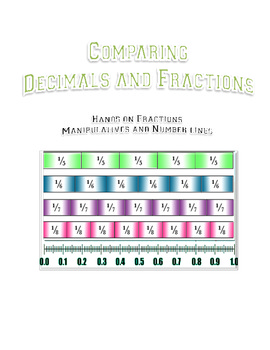 Common Core Fractions and Decimals: A Merging of Manipulat
