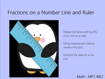 Common Core: Fractions on a Number Line Flip Chart