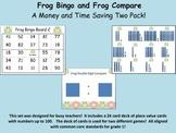 Common Core Frog Bingo and Compare Games