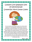 Common Core Geography Unit for Second Grade