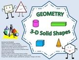 Common Core Geometry 3D Shapes