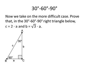 Common Core Geometry. Chapter 8. Right Triangles