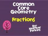 Common Core Geometry Fractions