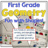 Geometry: Fun With Shapes! {First Grade}