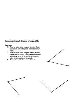 Common Core Geometry - Module 1 Lesson 3