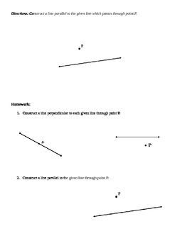 Common Core Geometry - Module 1 Lesson 4