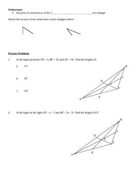 Common Core Geometry - Module 1 Lesson 6