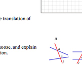 Common Core Geometry Practice & Activity (Translations G.CO.3, G.CO.4, G.CO.5)