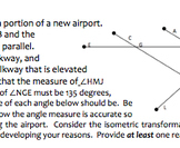 Common Core Geometry Practice (G.CO.9 Lines & Angle Proofs - Parallel)