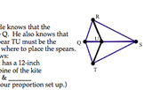 Common Core Geometry Practice (G.SRT.4 Theorems Using Similar Triangles)