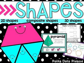 Common Core Geometry Shapes Projectable Lessons