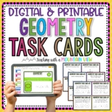 Geometry Task Cards | Distance Learning | Google Classroom