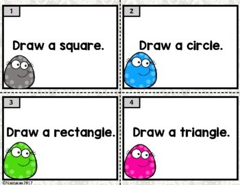 Geometry and Shape Task Cards