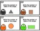 Common Core Geometry Task Cards First Grade