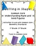 Common Core Geometry Understanding Plane and Solid Figures