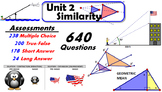 Common Core Geometry Unit #2 Similarity Assessment Materials