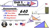 Common Core Geometry Unit #2 Similarity Assessment Materials