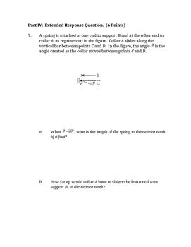 Common Core Geometry Unit 6 quiz