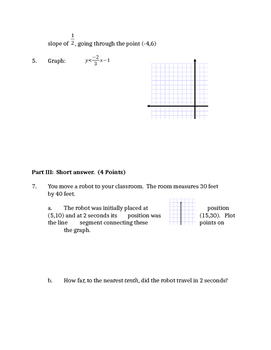 Common Core Geometry Unit 8 quiz