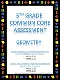 Common Core Geometry Unit Test 5th Grade