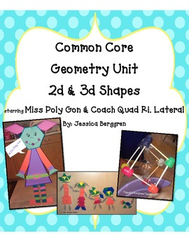 Common Core Geometry Unit {starring Miss Poly Gon}