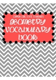 Common Core Geometry Vocabulary Book