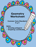 Common Core Geometry Worksheet