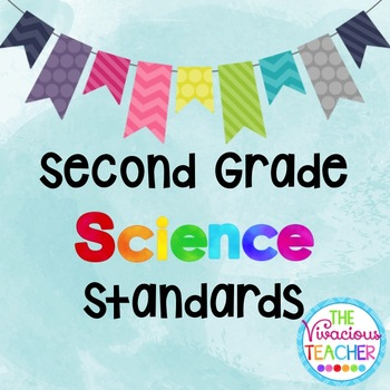 Common Core Georgia Performance Standards Posters Second Grade Science