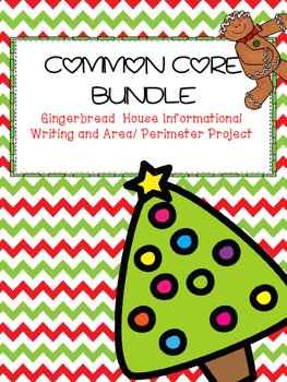 Common Core Gingerbread House Thematic Unit Bundle