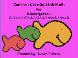 Common Core Goldfish Math Kindergarten (CC.A.1, CC.A.2, CC