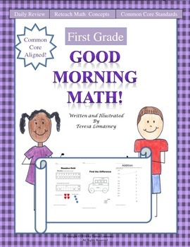 Math Morning Work First Grade Good Morning Math Common Core