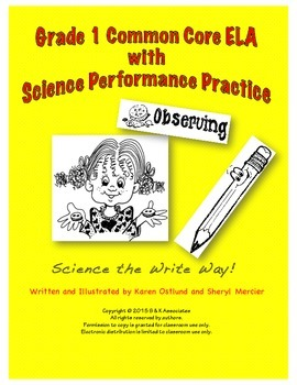 Science the Write Way Grade 1 Observing Buttons