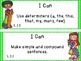 "Common Core Grade 1 ""I Can"" Statements and Checklists for"