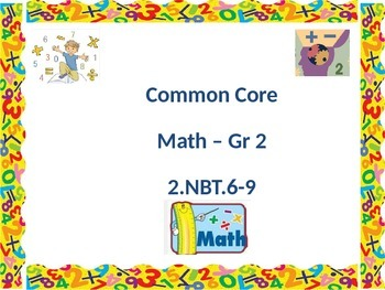 Common Core Grade 2 - 2.NBT. 6-9