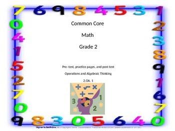 Common Core Grade 2 - 2.OA.1