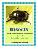 Grade 2- Domain 8- Insects- Common Core- Listening and Learning